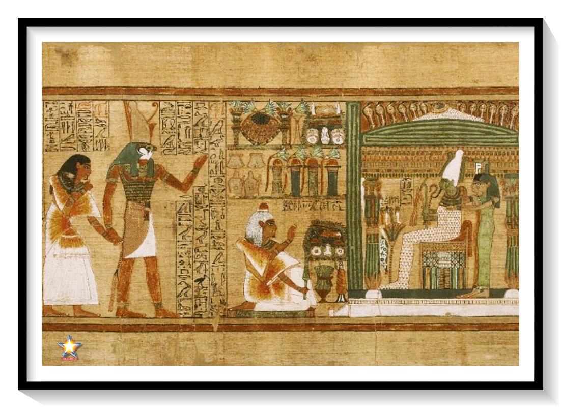 La confesión negativa del Papiro NU