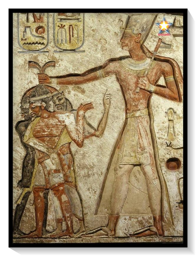 Demonios rojos Egipto