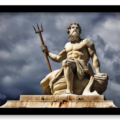 Dios Neptuno regente de la Atlántida