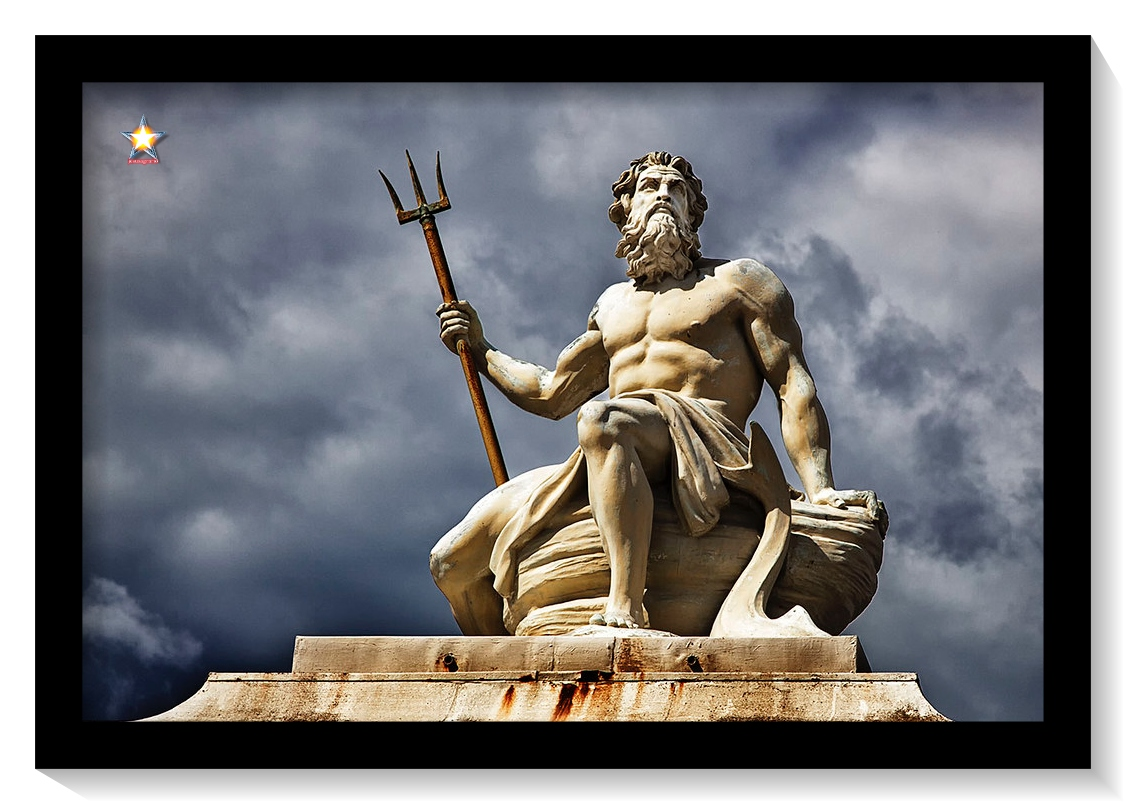 El Dios Neptuno gobernó la Atlántida