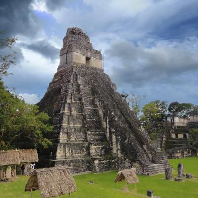 Pirámide de El Gran Jaguar en Tikal