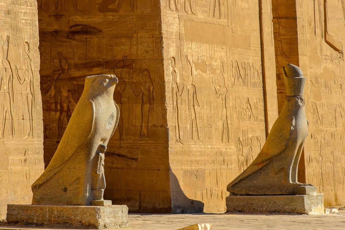 Horus en Edfu