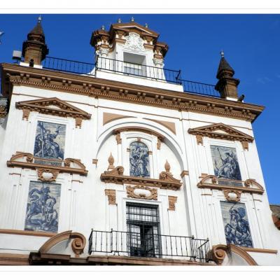 Iglesia y hospital de la Santa Caridad Sevilla España