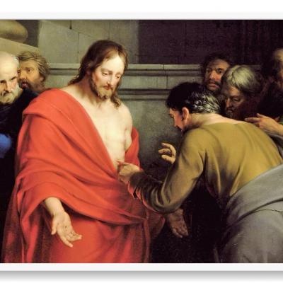 Jesús se aparece a sus discípulos