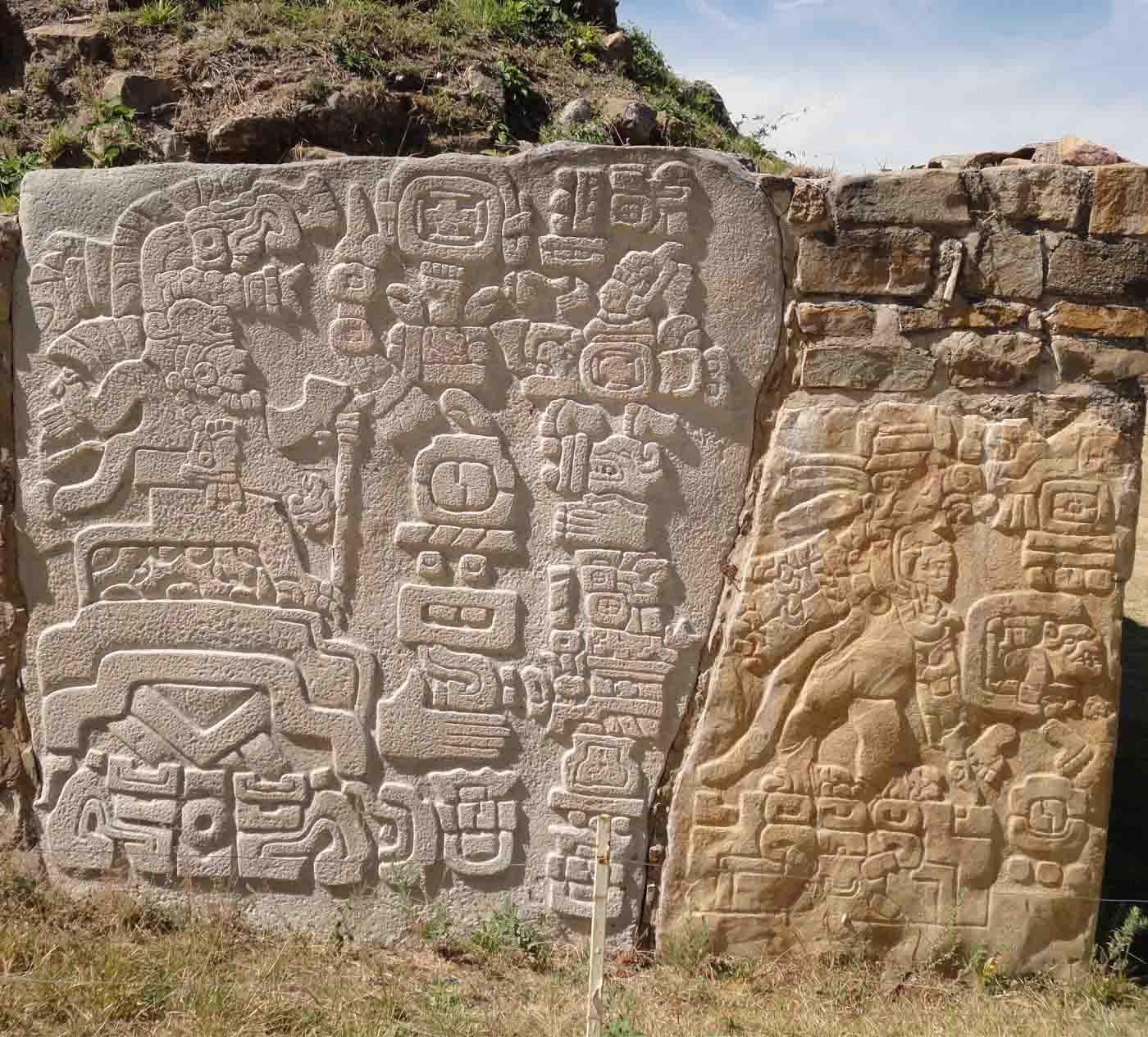 Deidad de Monte Albán Oaxaca México