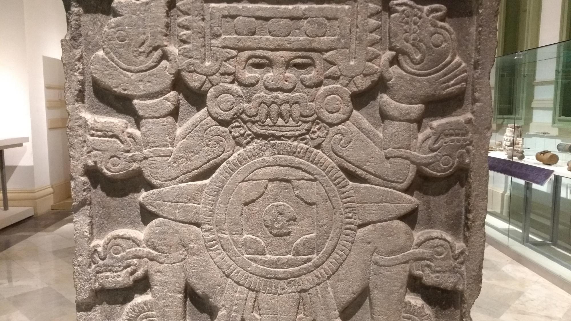 Dioses del panteón Azteca