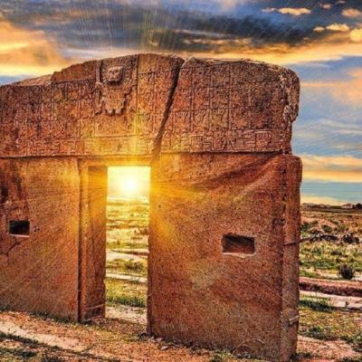 Puerta del sol Tiahuanaco