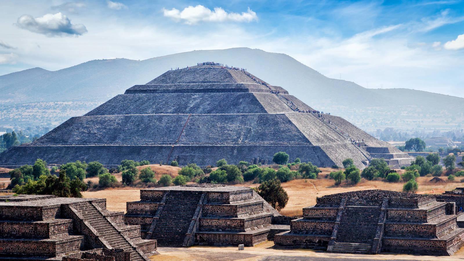 Teotihuacan Pirámide del Sol