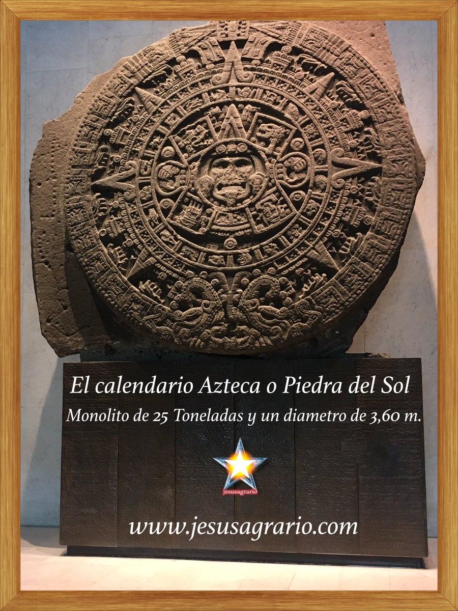 El calendario azteca o piedra del sol