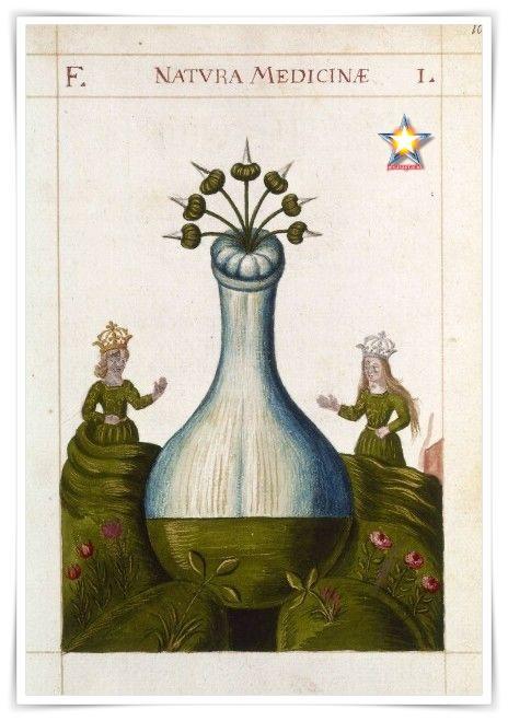 El vaso hermetico alquimia