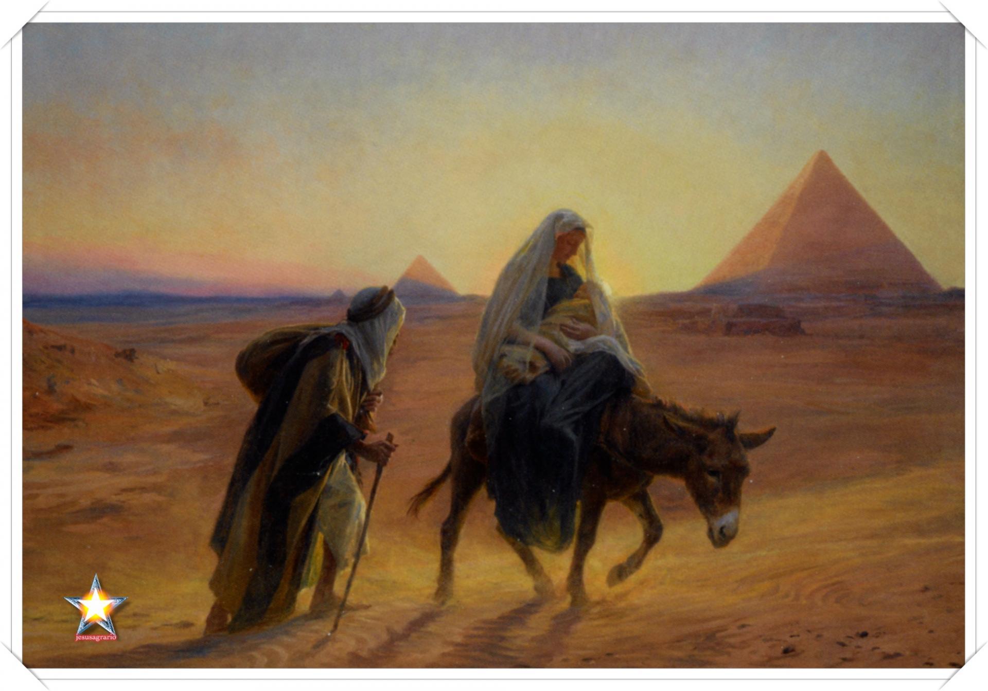 Jesus en egipto
