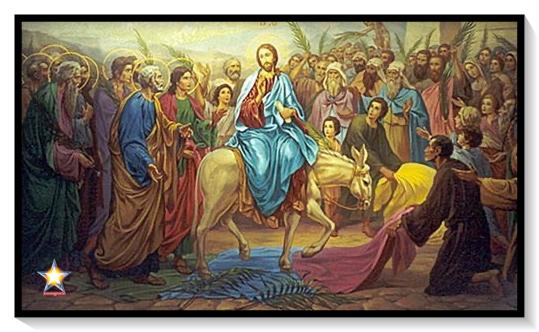 Jesus entra en jerusalem