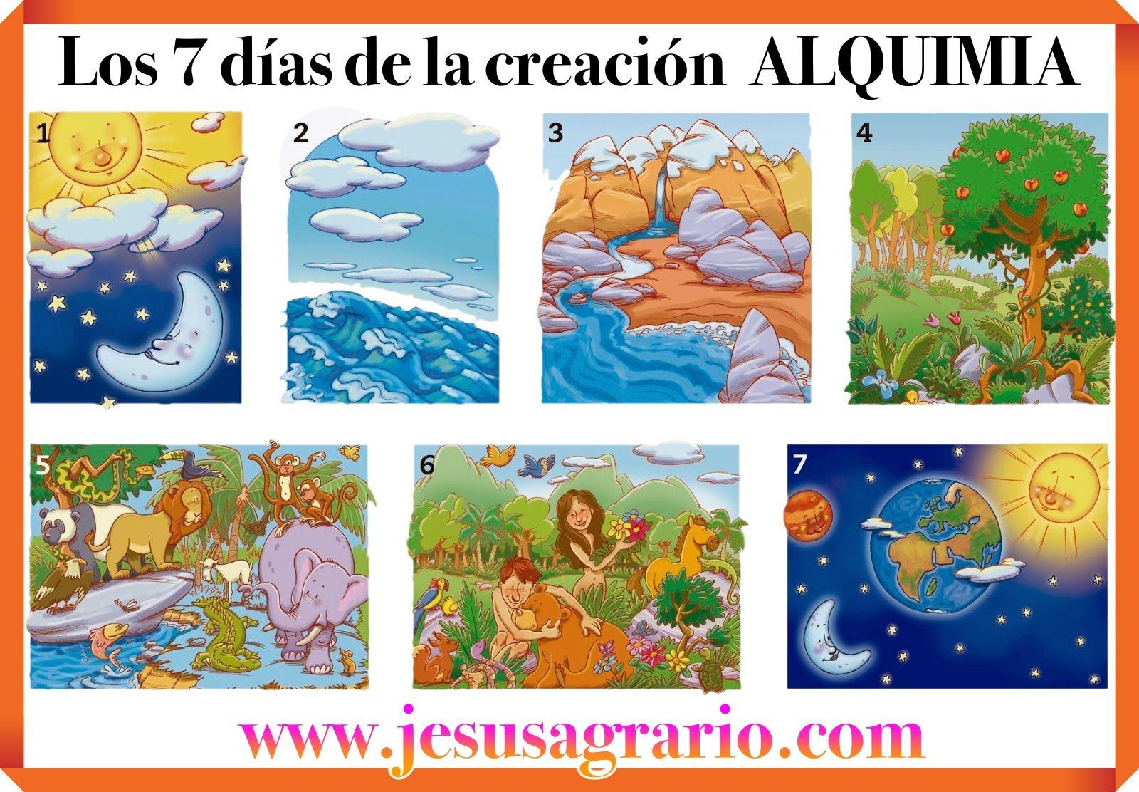 Los 7 dias de la creacion