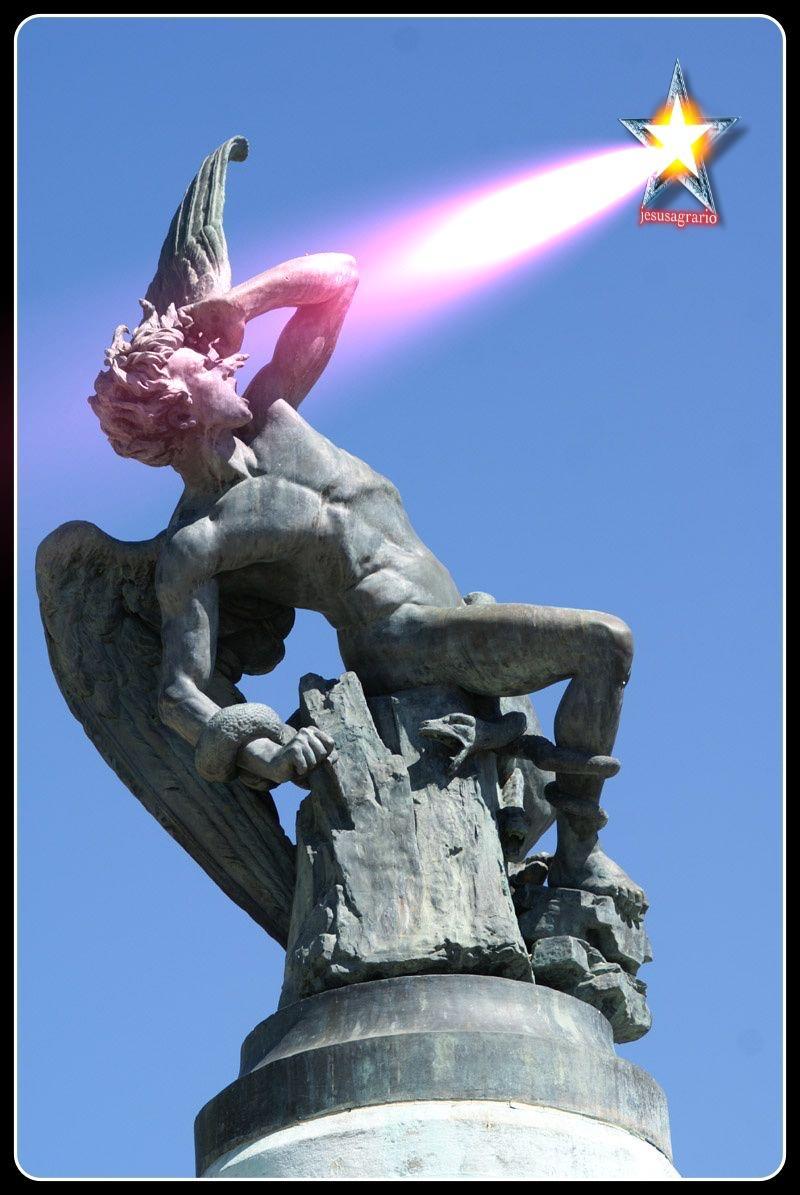 Lucifer diablo logo