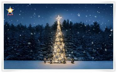 Navidad fiesta solar